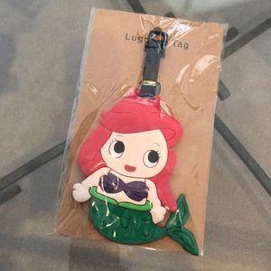 Accessories - Mermaid luggage tag